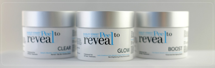 peel to reveal product variations