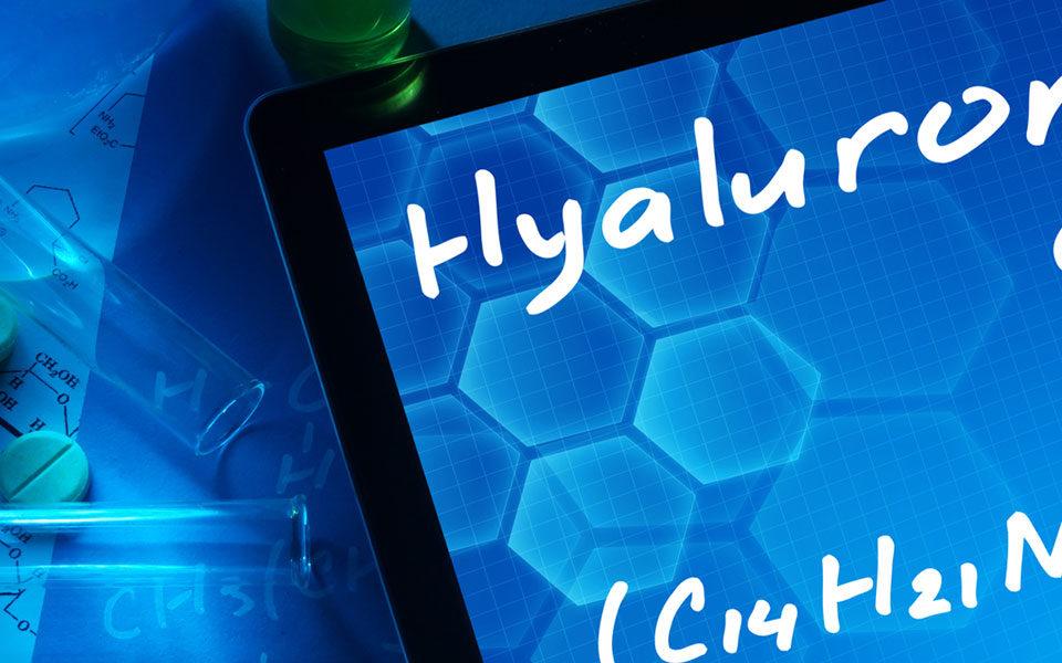 Hyluronic acid banner