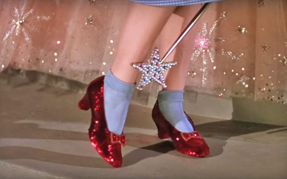 Wizard of Oz Slipper