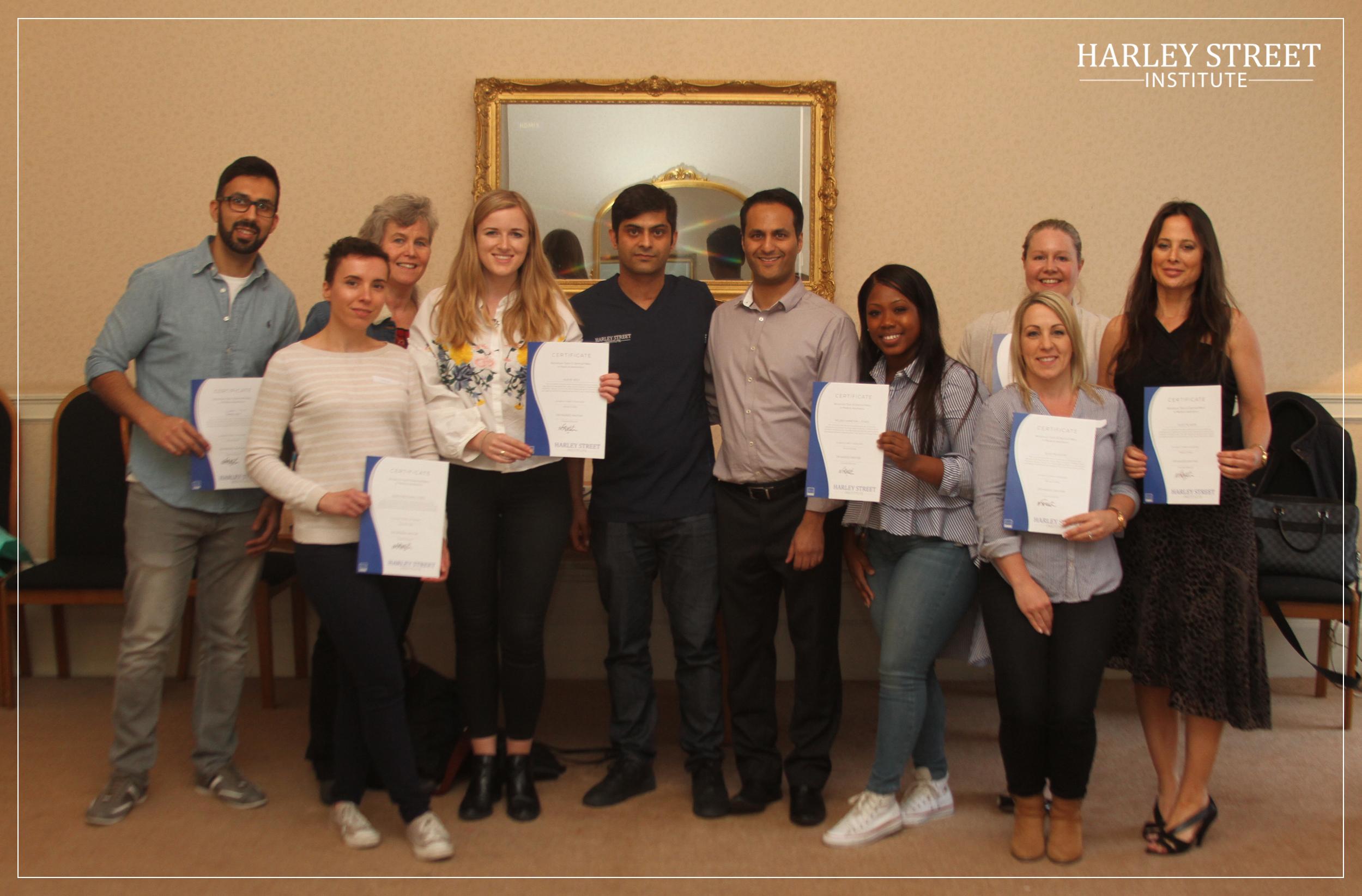 HSI trainee group