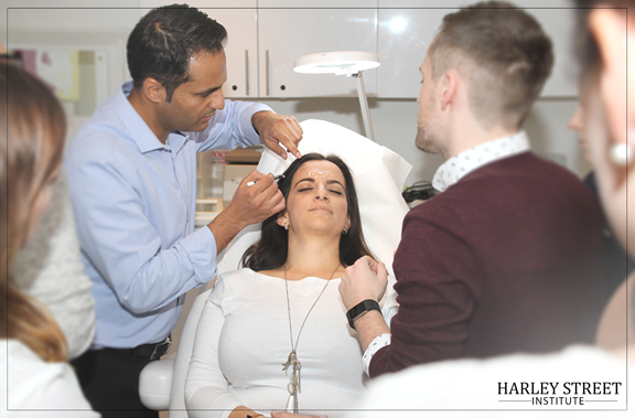 Facial assesment session
