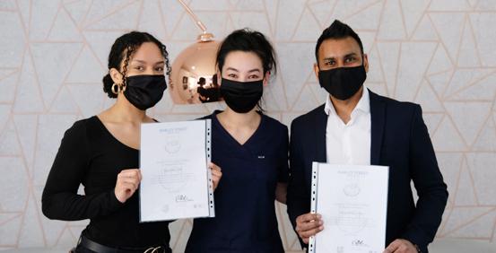 Botox Foundation's day training trainee